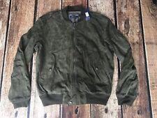 Bomber Lauren Xl Polo Men's Jacket Suede Armadillo Ralph LA4jq5R3