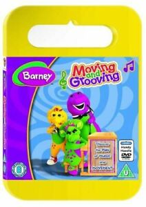 Barney-Moving-and-Grooving-Carry-Case-DVD-2003-Very-Good-DVD