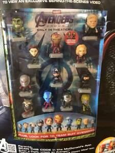 2019-Marvel-Avengers-Endgame-McDonald-039-s-Happy-Meal-Toys-Pick-Your-Favorite-New
