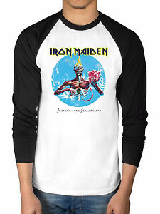 Official Iron Maiden Seventh Son 2 Tone T-Shirt Final Frontier Book Of Souls