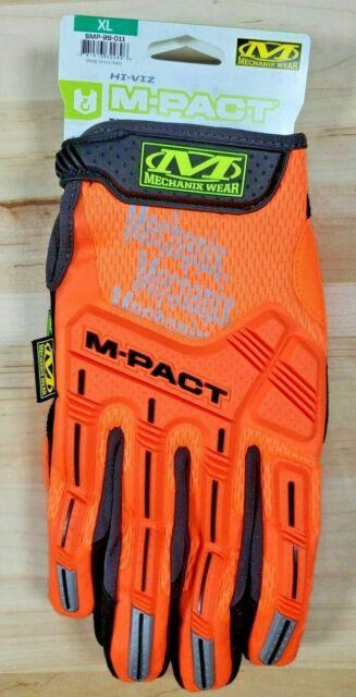 Large, Fluorescent Yellow Mechanix Wear Hi-Viz M-Pact 2