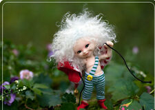1/12  bjd doll ball jointed dolls little baby doll smiling with face make up