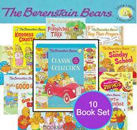 Berenstain Bears Classic Living Lights (pb) Box Set Golden Rule,kindness +