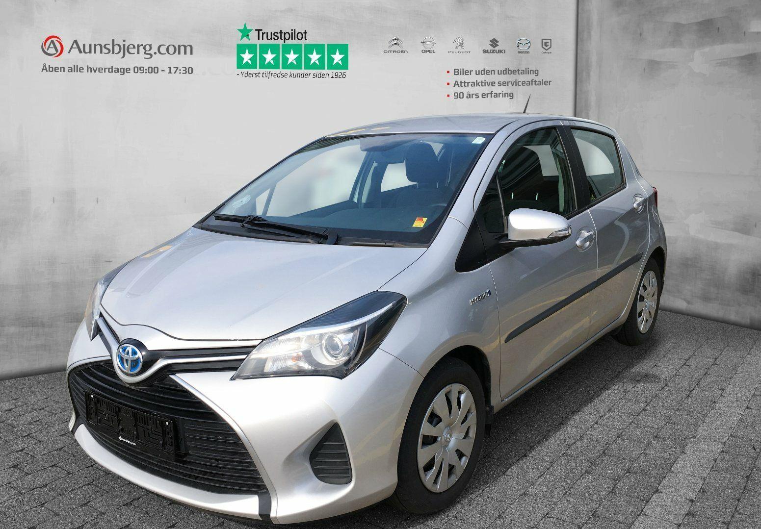 Toyota Yaris 1,5 Hybrid H2 CVT 5d - 126.500 kr.