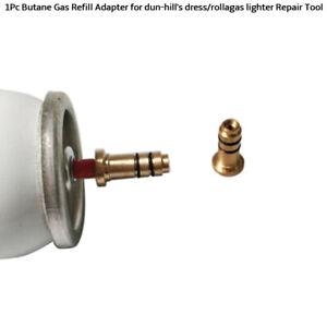 Butan-Gas-Nachfuellung-Adapter-fuer-dun-hill-039-s-dress-rollagas-lighter-Repair-GE
