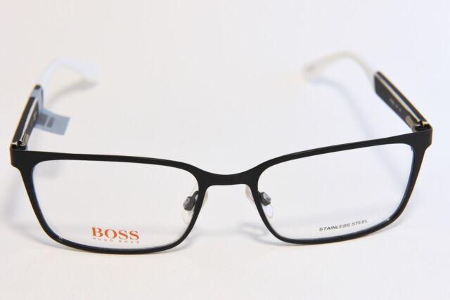 HUGO BOSS ORANGE BO0265 STAINLESS STEEL FULL RIM EYEGLASS FRAMES ...