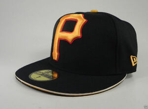 brand new 2c2d8 9e26a Image is loading New-Era-59Fifty-MLB-Hat-Pittsburgh-Pirates-Big-