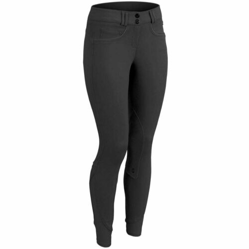 Details about  /Equistar Child/'s Pull On Cotton Knee Patch Riding Breeches
