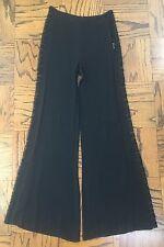 REFORMATION black lace panel wide leg palazzo pants XS