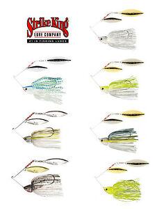Strike-King-Burner-Spinnerbaits-3-8-Oz-Bass-Fishing-Spinnerbait-Lure