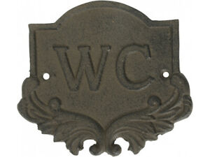CAST-IRON-WC-SIGN-TOILET-SIGN-RUSTIC