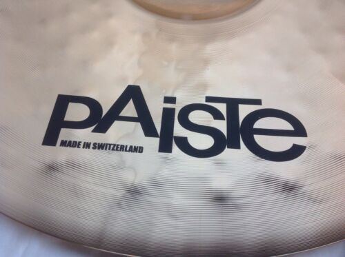 "Paiste PST8 22/"" Reflector Rock Ride Cymbal//Brand New"