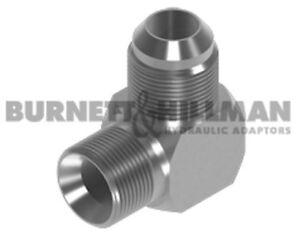 Burnett-amp-Hillman-Maschio-Bsp-X-Jic-90-Compatto-Gomito-Idraulico-Adattatore