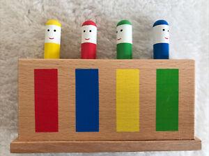 Galt-in-legno-classico-Pop-Up-per-condizioni-eccellenti-giocattolo-di-legno-classe-Arcobaleno