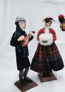image is loading simpich lady with muff 1952 christmas carollers character - Christmas Carollers