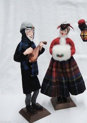 Simpich Lady With Muff 1952 Christmas Carollers Character Doll Ebay