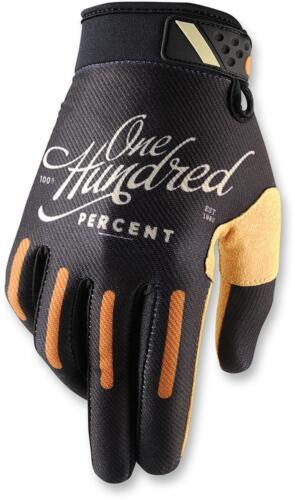 100/% Ridefit Classic Black Gloves Motocross Enduro Handschuhe schw.//orange//weiß