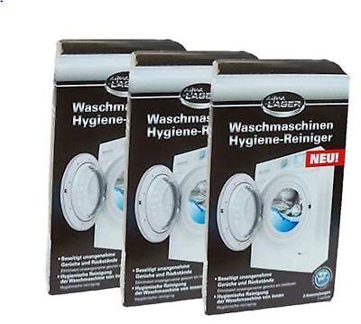 Original Aqua Laser Waschmaschinen Hygiene Reiniger entfernt Gerüche 6x a 150 g