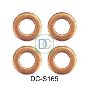 CITROEN Berlingo 1.6 HDI Common Rail Iniettore Diesel Rondelle//Guarnizioni x 4
