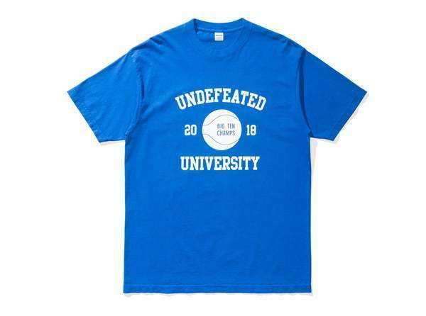 NEW - LIMITED EDITION UNDFTD UNDEFEATED BIG TEN CHAMPS TEE - ROYAL (Size XXL)