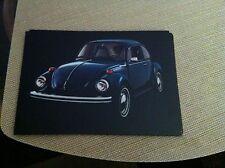 1973 Volkswagen Beetle Postcard Unused
