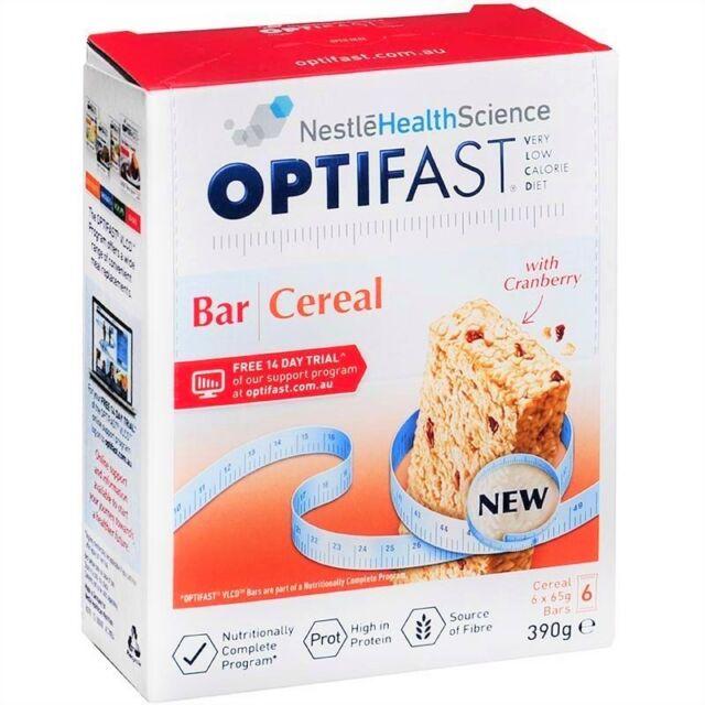 Nestle Optifast Vlcd Cereal Bar 390g