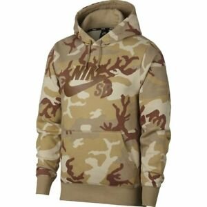 Details about Nike SB Icon ERDL Hoodie Pullover Camouflage Outdoor Sports Beige NWT AT9755 248