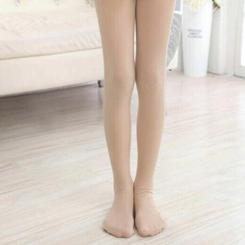 UK Quality 100Denier Girls Dance Tights Ballet Tap Modern Convertible /& Full Hot