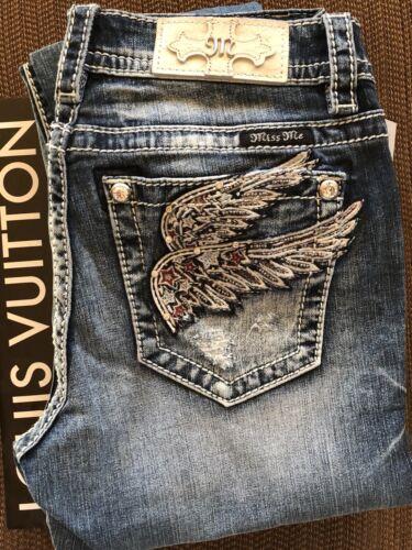 Pocket Wing 30 28 25 Jeans 29 nwt Me Størrelser Skinny Miss 27 26 qEUP465zc