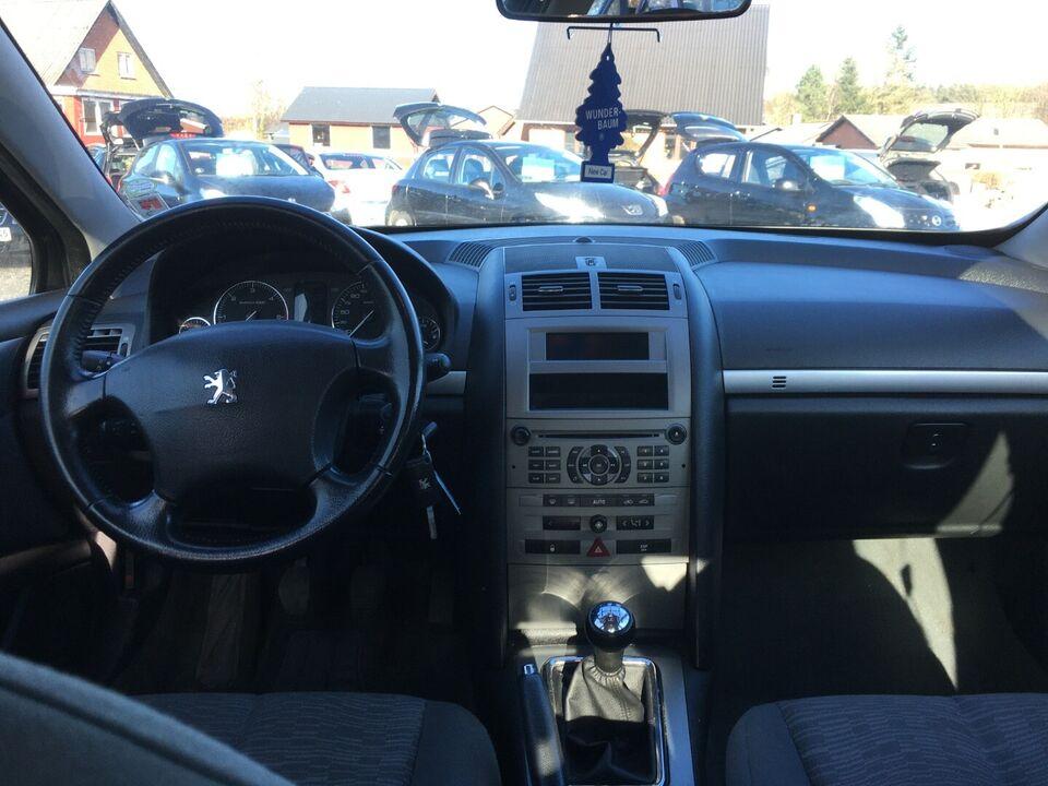 Peugeot 407 1,6 HDi XR Diesel modelår 2005 km 283000