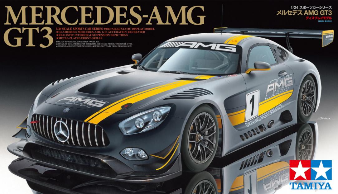 Mercedes -AMG GT3  1 24 Kit di montaggio 24345  Tamiya  wholesape economico