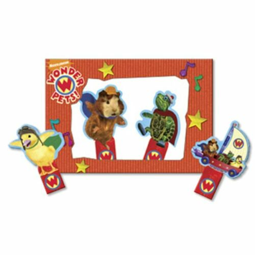 WONDER PETS FINGER PUPPETS 4 ~ Birthday Party Supplies Favors Activity Game