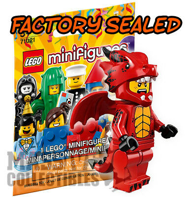 DRAGON SUIT GUY LEGO MINIFIGURES New /& Sealed! 71021 - Series 18