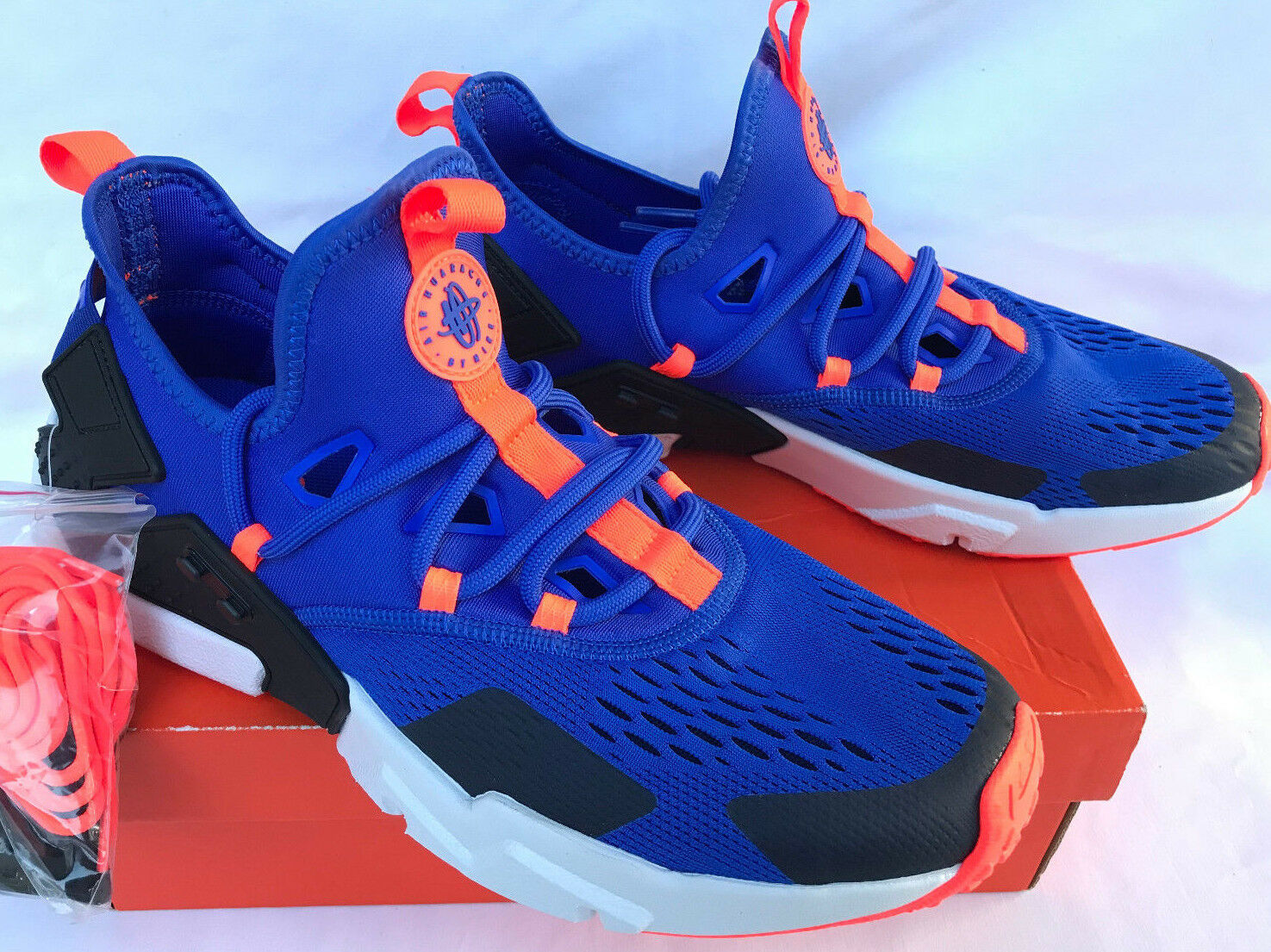Nike Air Huarache Drift Breathe AO1133-400 bluee Marathon Running shoes Men's 9.5