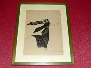 Superb-art-deco-sabanes-original-drawing-sign-p-de-madariaga-china-ink-ca1930