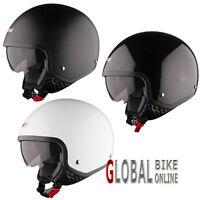 LS2 OF561 Wave Open Face Motorbike Motorcycle Crash Helmet W/ Internal Sun Visor