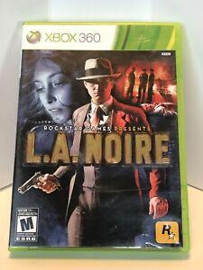 XBOX 360 L.A. Noire FREE SHIPPING (Microsoft Xbox360, 2010) Complete