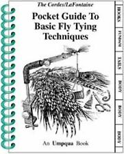 Pocket Guide to Basic Fly Tying Techniques (PVC Pocket Guides), Cordes, Ron
