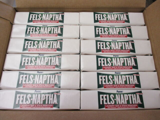 Fels- Naptha Soap (24) Bars - 1 Case - $1.55 per bar (Free Shipping)