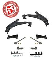 Front Lower Control Arms Sway Bar Links Inner Outer Tie Rods For G20 99-02 10pc