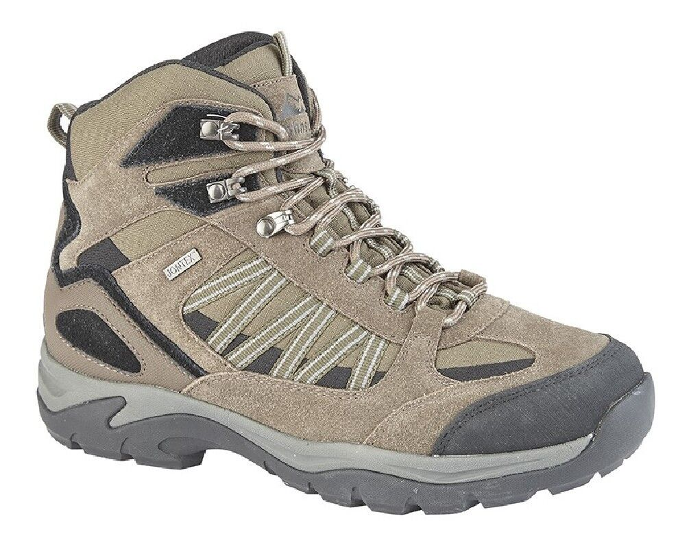 Mens Johnscliffe M205 Scout Real Suede Waterproof Hiking Stiefel