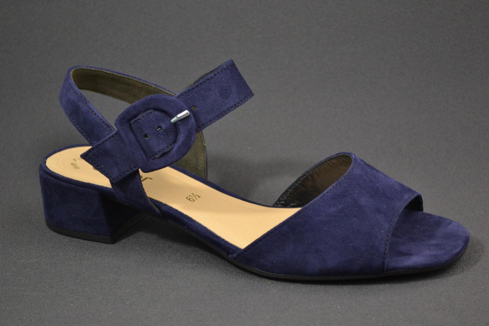 Gabor Damen Sandalen Sandaletten blau 81.742.16 blau Sandaletten Nubuk Leder  NEU 9c91db