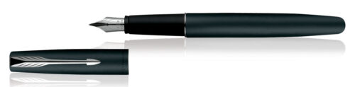 Parker Frontier Matte Black CT Fountain Pen Fine Nib New Original