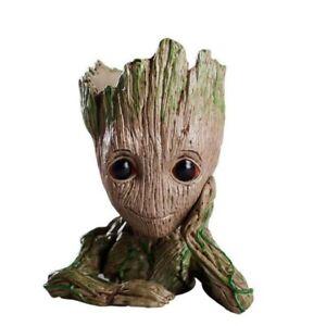 Groot-bebe-Maceta-Maceta-Plantador-de-figuras-de-accion-de-pluma-Guardianes-de-la-galaxia