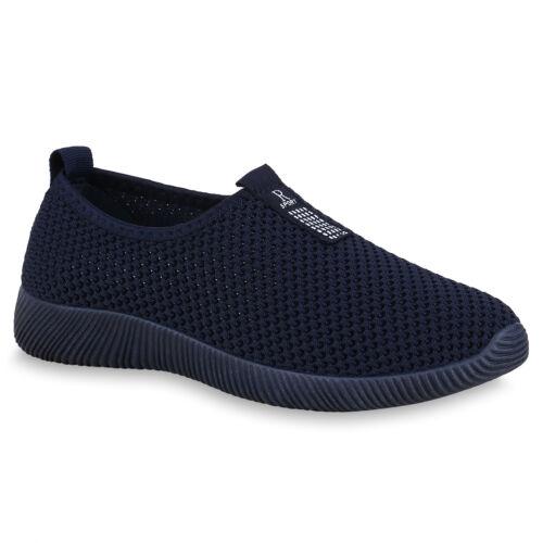 Damen Sportschuhe Slip On Schuhe Slippers Laufschuhe Profil 825722 Trendy Neu