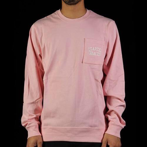 Nike X Quartersnacks Sz 884497527963 Sb Crewneck 857083 612 Xxl sudadera Heavyweight rosa rfxrwq5B