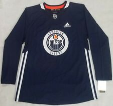 ea739db01 Edmonton Oilers Adidas Practice Jersey - NHL Hockey - Sz 46   Small S -  120