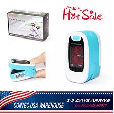 Contec 50m Usa Oximeters Finger Pulse Oximetero2 Monitorblood Oxygenspo2led