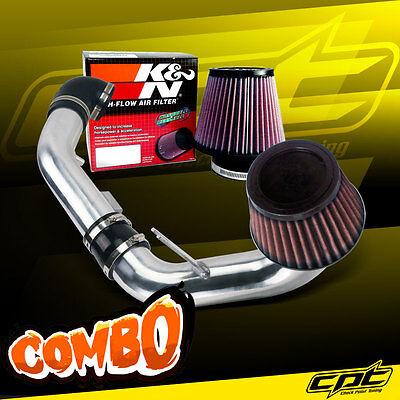 05-10 Chevy Cobalt 2.2L/2.4L 4cyl Polish Cold Air Intake + K&N Air Filter