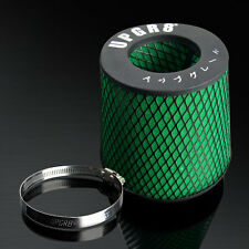 3.5'' Universal Inlet Super High Dry Flow Cone Mesh Turbo Intake Air Filter 89MM